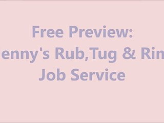 Free sex preview videos Free preview: jennys rub, tug and rim job service