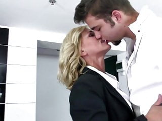 Mom fucked - Sexy mature mom fucked hard by her sons friend