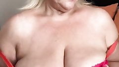 Thick Busty Blonde Grannty
