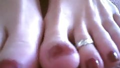Aurora Sexy Long Toes