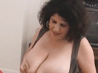 Wife milking black cock Big boobs hot wife milking and blowjob