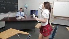 Hot schoolgirl