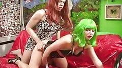 Goddess releases the sissy Part 2