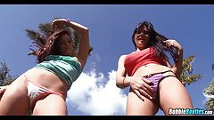Super Asses with Rebeca Linares & Gracie Glam