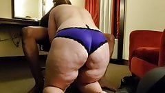 Cuckold - Wife meets with new bull in hotel, goes bareback