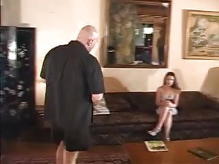 Girls become strippers Model casting become orgy-3 men for 1 girls