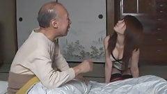 Saki Tsuji: Taking care of old man