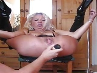 Wife dildo squirt Hard anal fisting and squirting