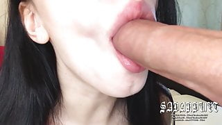 ASMR, The Best Blowjob Ever In Your Life, Oral Creampie