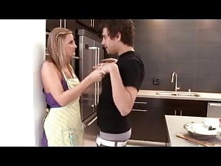 Mature mom young guy - Pretty hot mom seduced by young guy