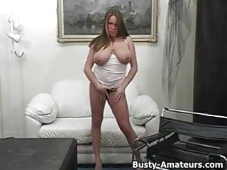 Brandy busty Busty brandy striptease and masturbation