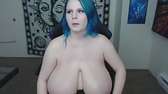 Huge boobs tiny sexy body