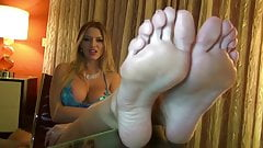 beautiful Long Feet
