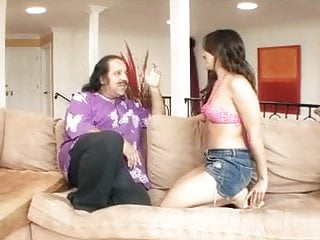 Hair products big and sexy Ron jeremy loves to fuck this sexy young dark haired girl with perky little tits