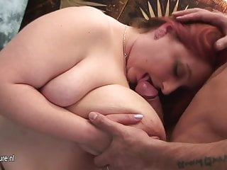 Dick sucking mamas Big titted mama fucking and sucking cock