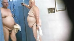 Fat ass in the shower