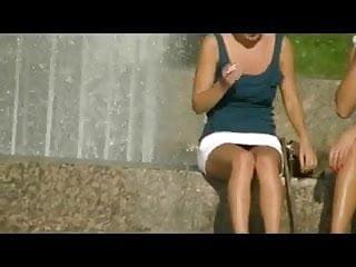 Asian beautiful legs - Beautiful legs and panties from saint-petersburg