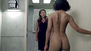 Tessa Thompson Nude Ass in Westworld On ScandalPlanet.Com