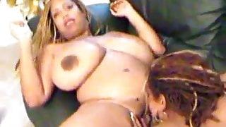 Ms Deja in Lesbian action
