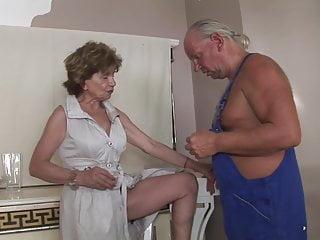Granny mature videos - Katala repairman anal granny mature hairy