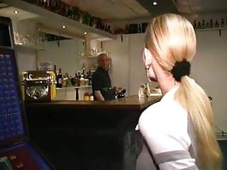 Porn bartender movies - Belgian blonde fucks dutch bartender