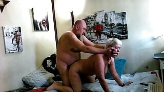 I fuck my wife hard, ordered by a client of a private show!