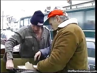 Video gay sex homeless Homeless threesome outdoors