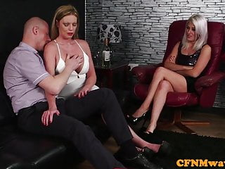 Fat naked guy at computer Busty eurobabes dominate lucky naked guy