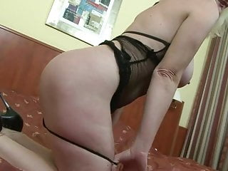 Blonde top dark bottom - Moms dark pleasure