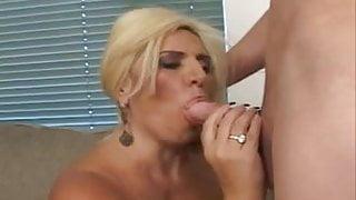 BBW Blond Mature Ass Fucked