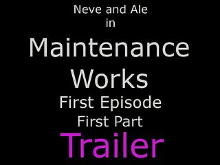 Pantyhose foot mature movies - Maintenance works ep1 first part - pantyhose foot fetish