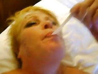 taryn drink cum from a condom