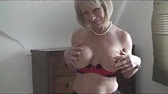 Milf Blonde With Huge boobs