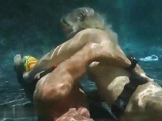 Water orgasm video clips Under water