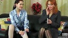 Russian Irene A 36 - Lesbians in nylons (feat. Judith B)