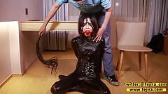 Fejira com  Tortured girl with bondage