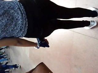 Teen ass butt Indian girl tight jeans ass butt