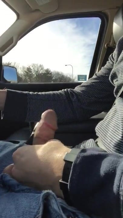 Finger Pussy While Driving