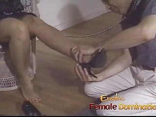 Domination sex slave Dominant milf tricks a pizza boy into being her sex slave