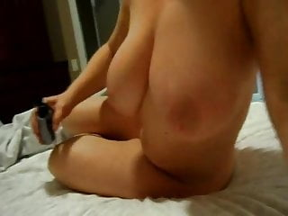 Jersey tits - South jersey wife with big naturals strokes hubbys cock