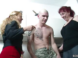 Aunt fucking her bitches free porn - German milf and aunt seduce young boy to fuck her