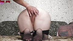 MyHappySpring Naughty with a toy and fucked doggy style