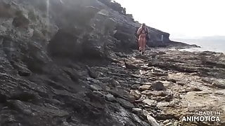 A Hard outdoor Pee Sex at beach...6 March 2021