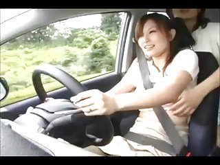 Groped asians dvd - Another tit groping of a japanese girl driver