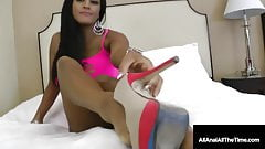 Big Boobed Cambodian Cougar Maxine X Gets Anal Pounded!