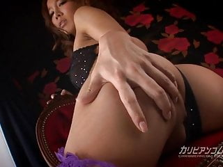 Woman gets nervous before sex - Horny asian woman gets her wet pussy slammed
