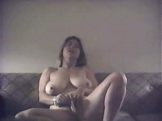 Natural dd lesbians Huge natural dd tit masturbates, fucks and sucks cock
