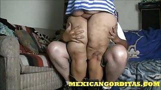 MEXICANGORDITAS.COM HE CUMS INSIDE LAURA HERNANDEZ