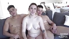 Three roommates decide to have a good time together...