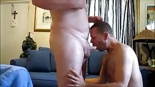 sucking 3 cocks and a 2 loads in my mouth